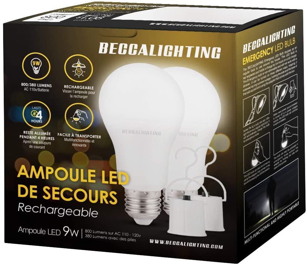 BeccaLighting LED Emergency Bulbs