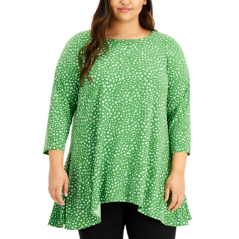 Alfani Plus Size Printed Swing Top, Created for Macy's – Macy's Canada