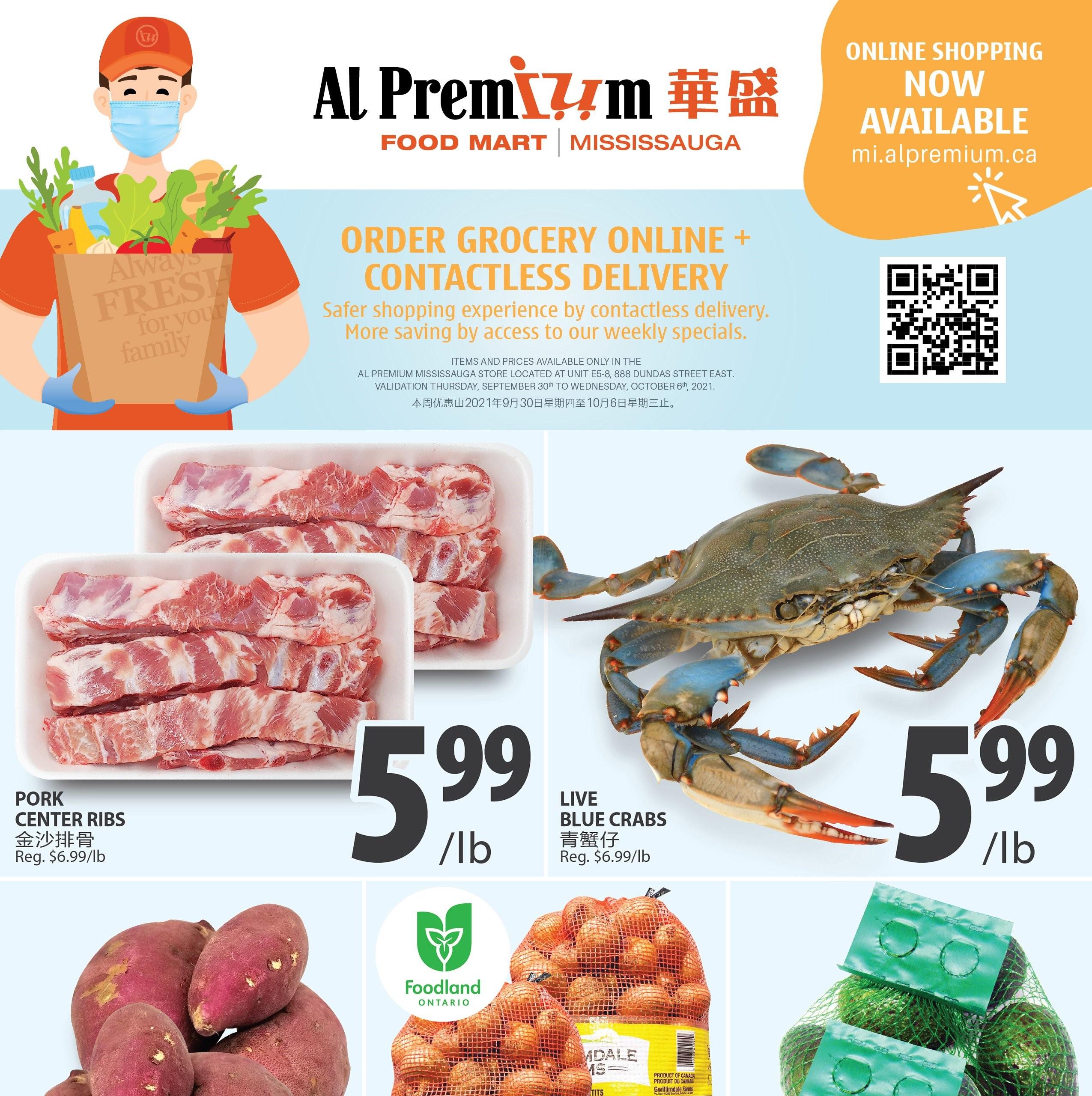 Al Premium Food Mart Mississauga Flyer   Sep 30