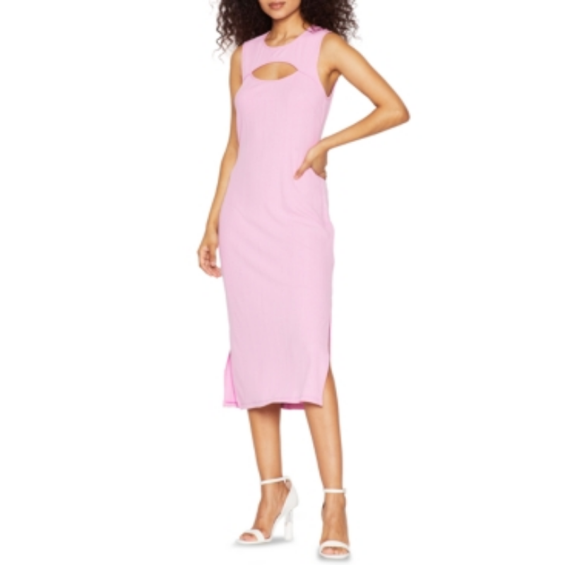 BCBGeneration Ribbed Knit Midi Dress – Macy's Canada