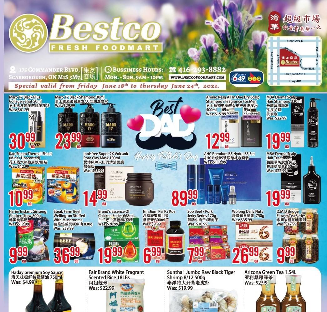 Bestco Fresh  Foodmart Flyer   Jun 18