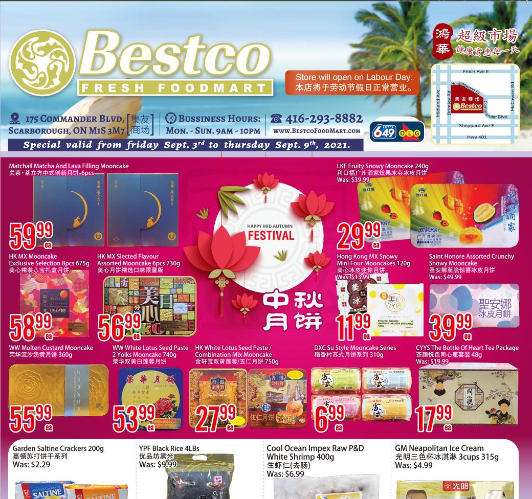 Bestco Fresh  Foodmart Flyer   Sep 3