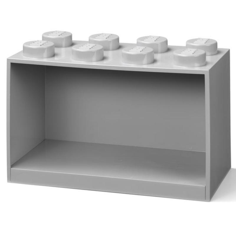 Brick Shelf 8 Knobs Grey – LEGO Brand Retail, Inc.