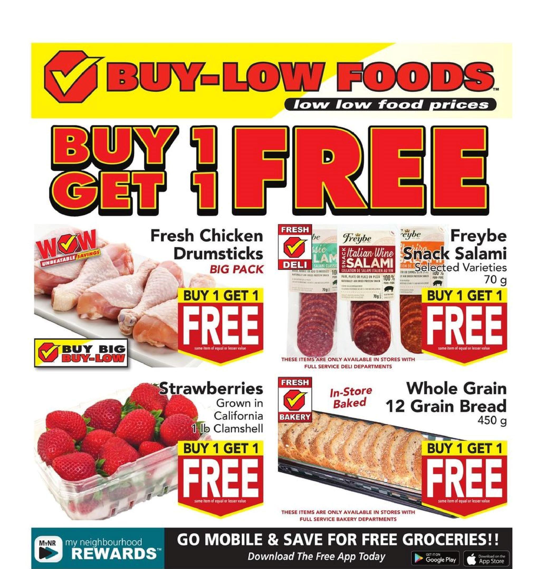 Buy-Low Foods Flyer May 9