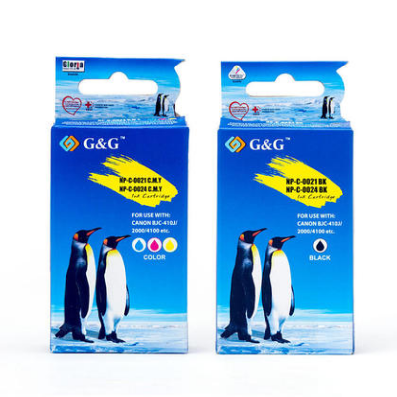 Compatible Canon BCI-24 Black and Color Ink Cartridge Combo- G&G™ – 123Ink.ca