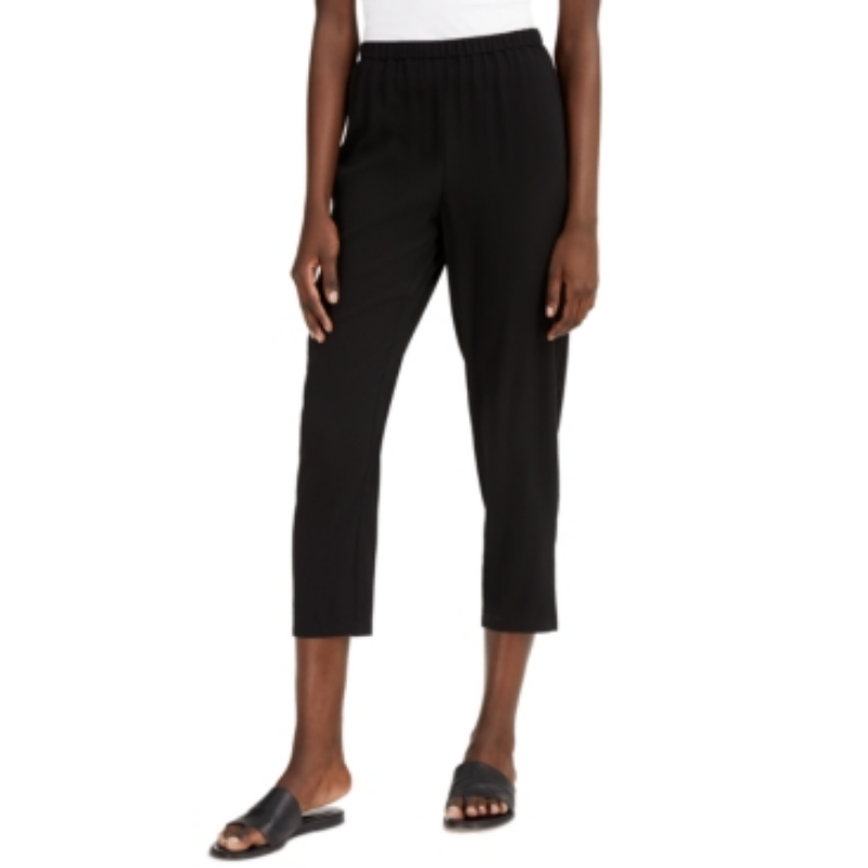 Eileen Fisher System Cropped Straight-Leg Pants, Regular & Petite Sizes – Macy's Canada