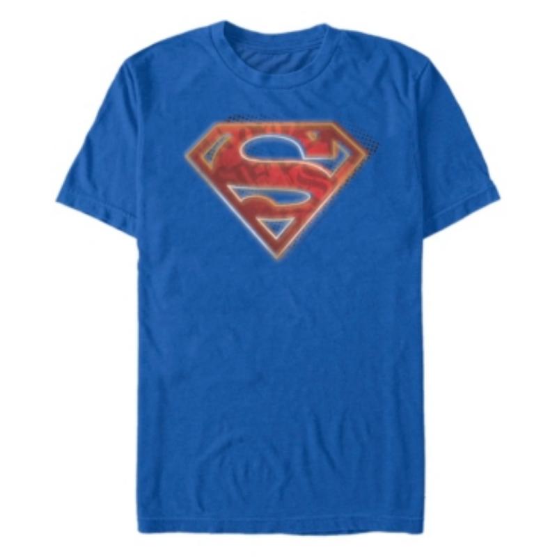 Fifth Sun Dc Men's Superman Man of Steel Graffiti Logo Short Sleeve T-Shirt – Macy's Canada