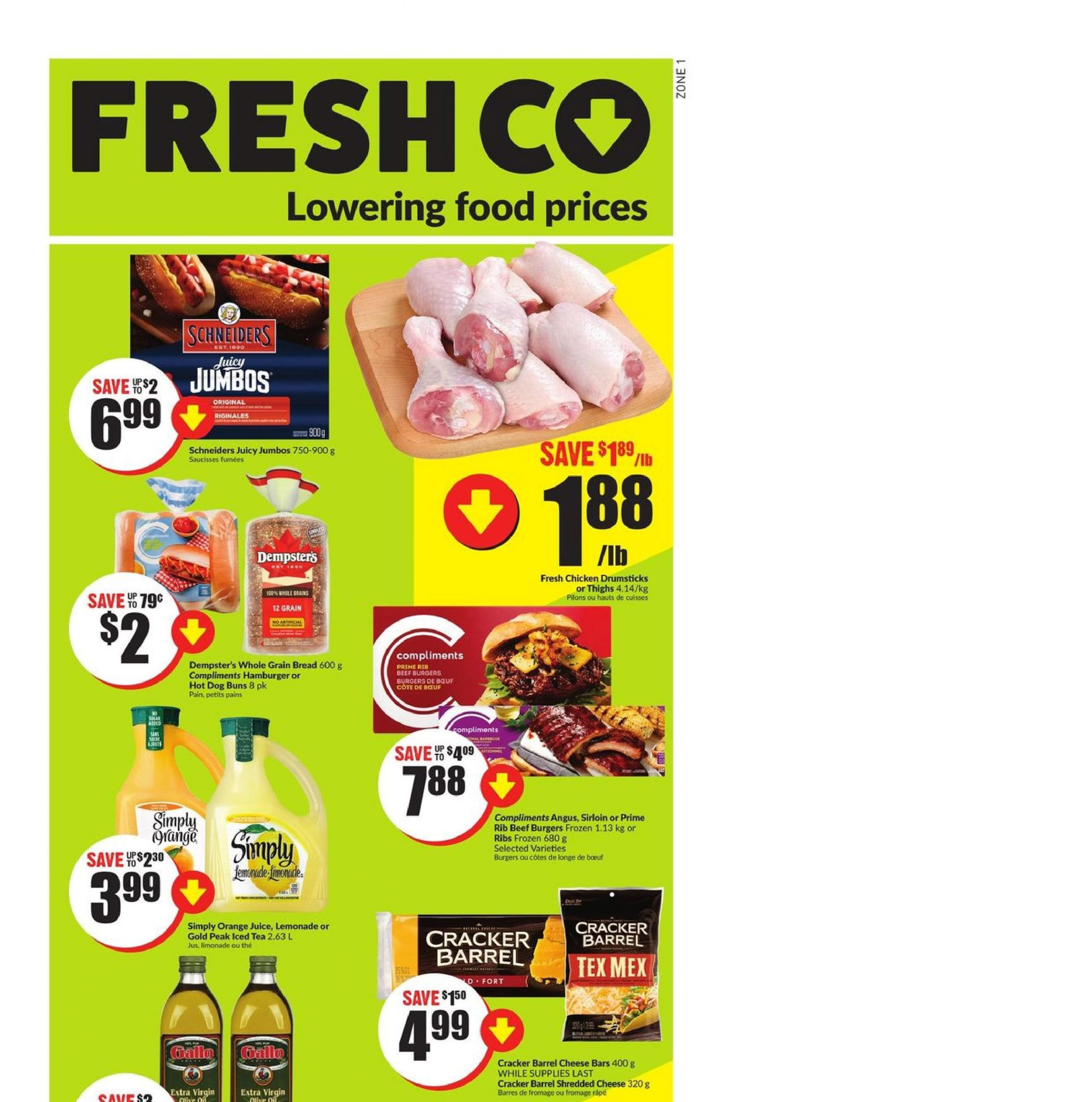 Fresh Co Flyer May 13