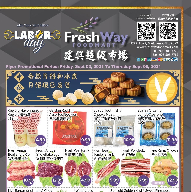 FreshWay Foodmart Flyer   Sep 3