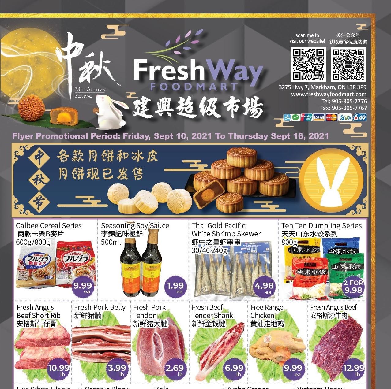 FreshWay Foodmart Flyer   Sep 10
