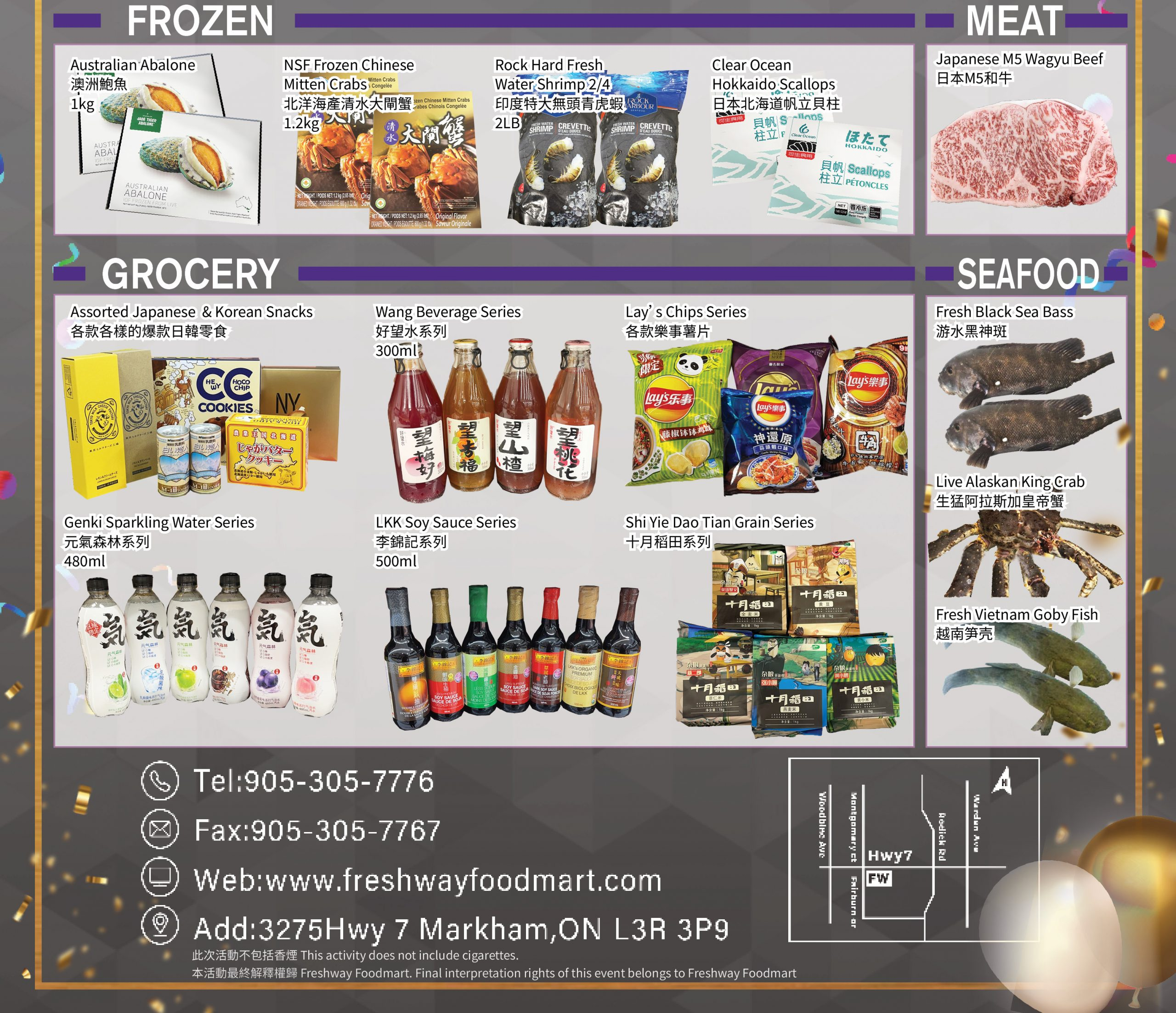 FreshWay Foodmart Flyer   Oct 1