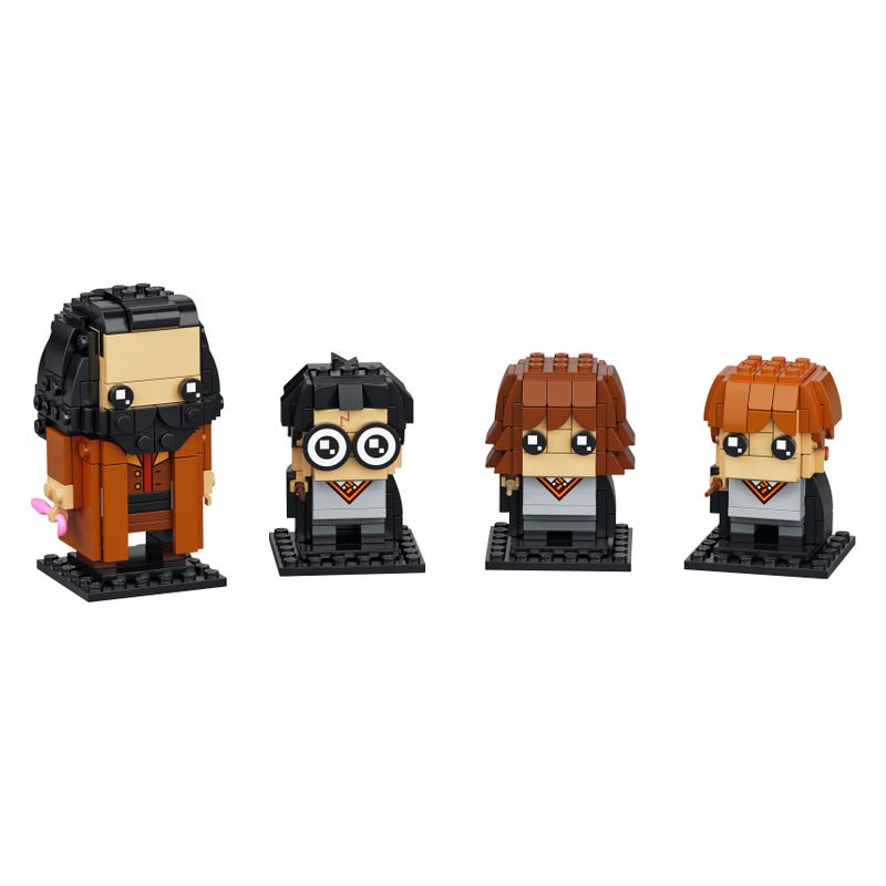 Harry, Hermione, Ron & Hagrid™ – LEGO Brand Retail, Inc.