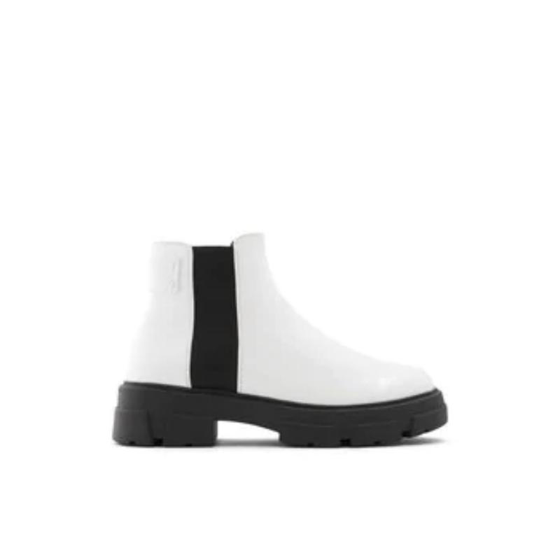 Julika – Women's Boots Ankle – White, Size 7.5 – Aldo