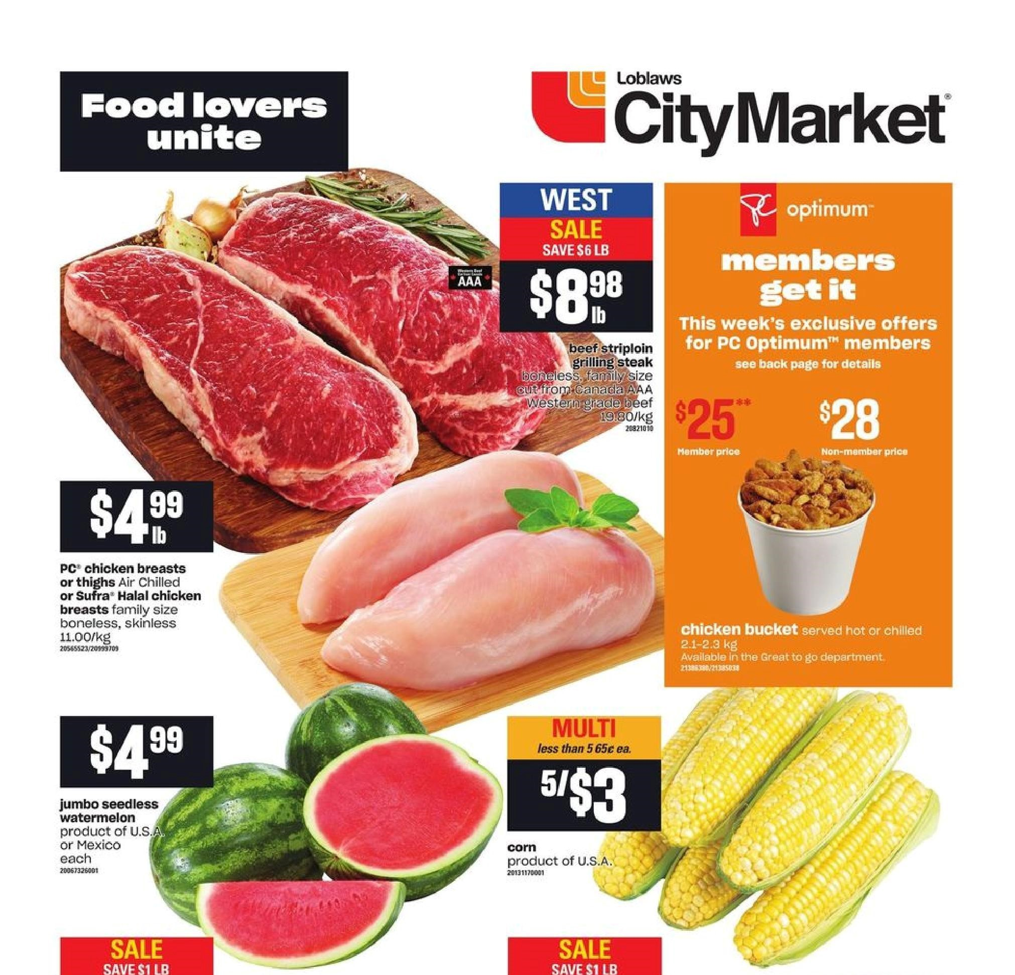 Loblaws City Market BC Flyer May 20