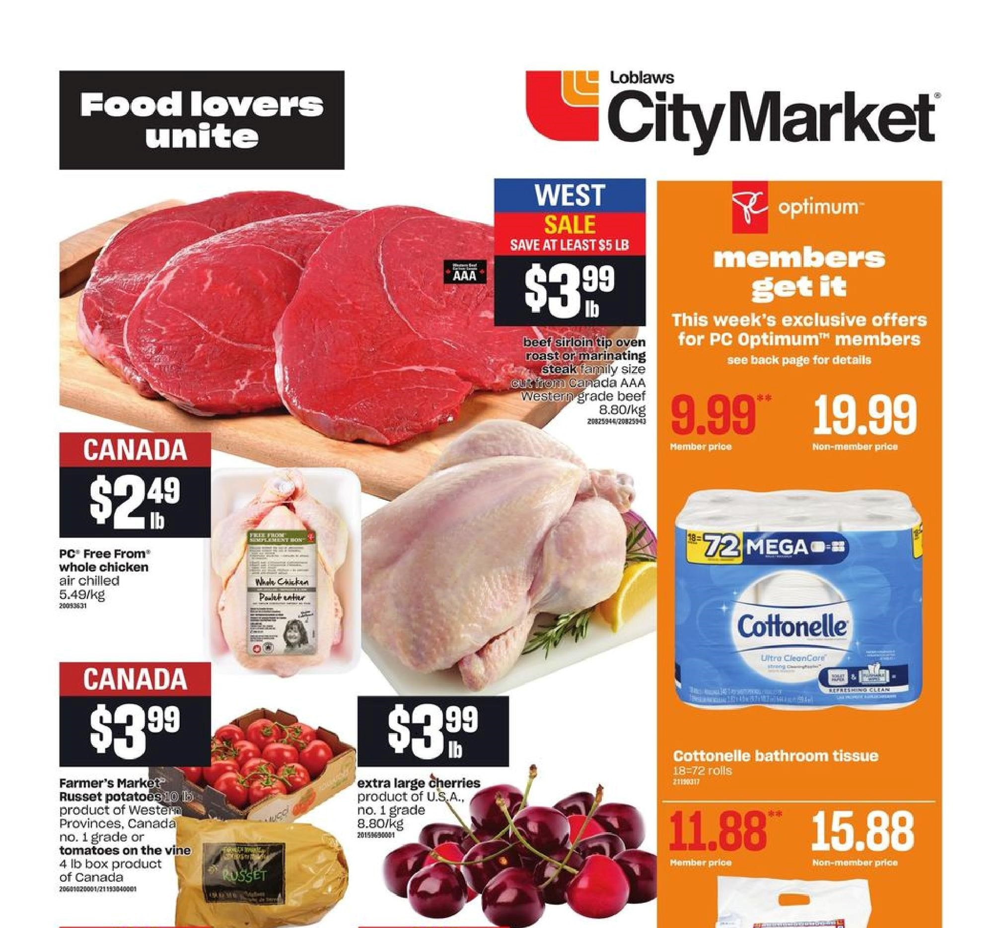 Loblaws City Market BC Flyer May 27