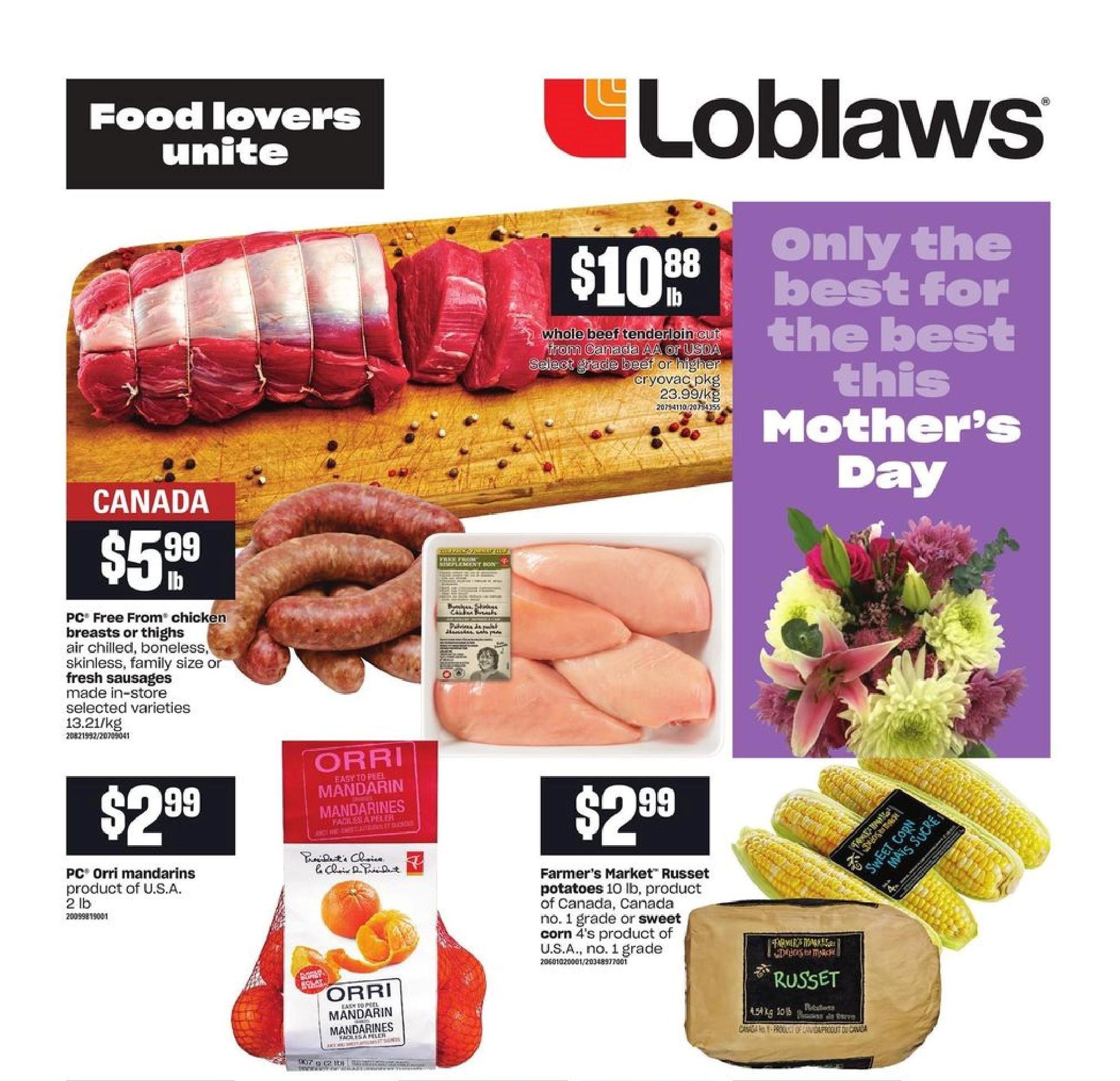 Loblaws Flyer May 6