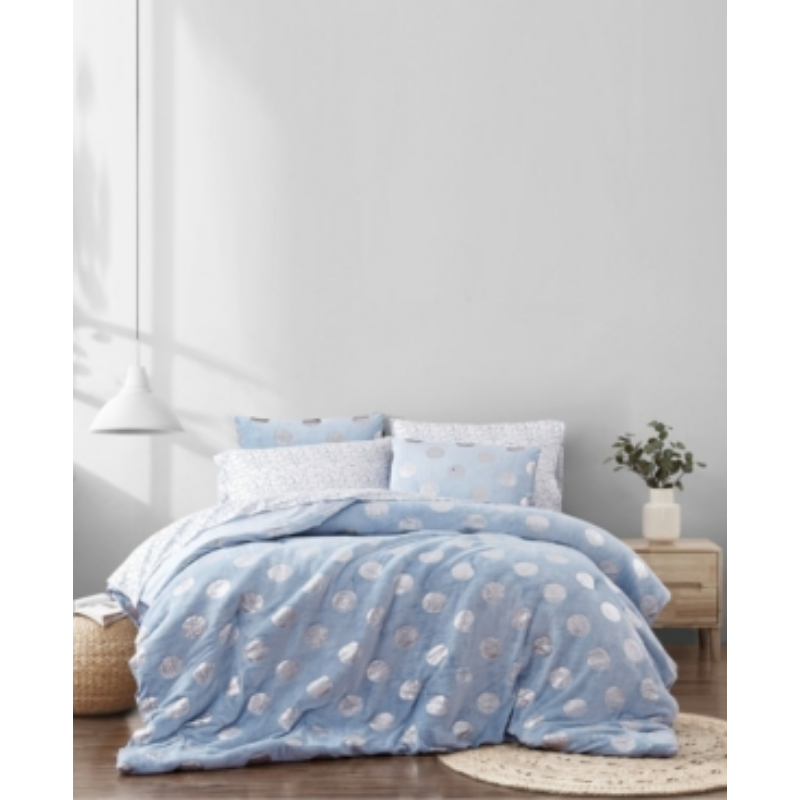 Material Girl Metallic Dot Twin 5 Piece Bed in a Bag Bedding – Macy's Canada