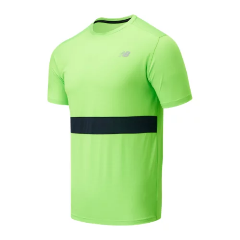 Men's Striped Accelerate Short Sleeve – (Size S M L XL) – New Balance Canada