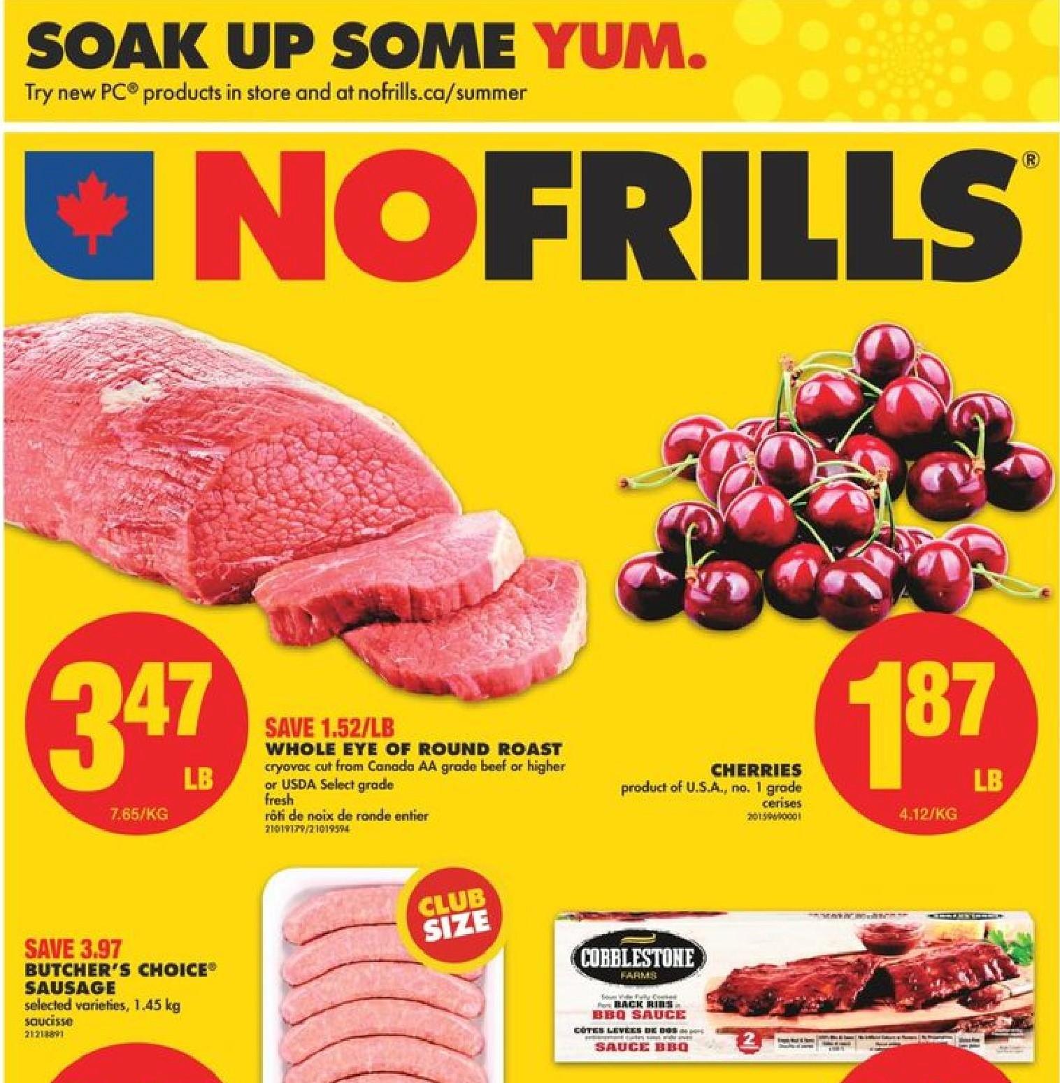 No Frills ON Flyer | Jul 8
