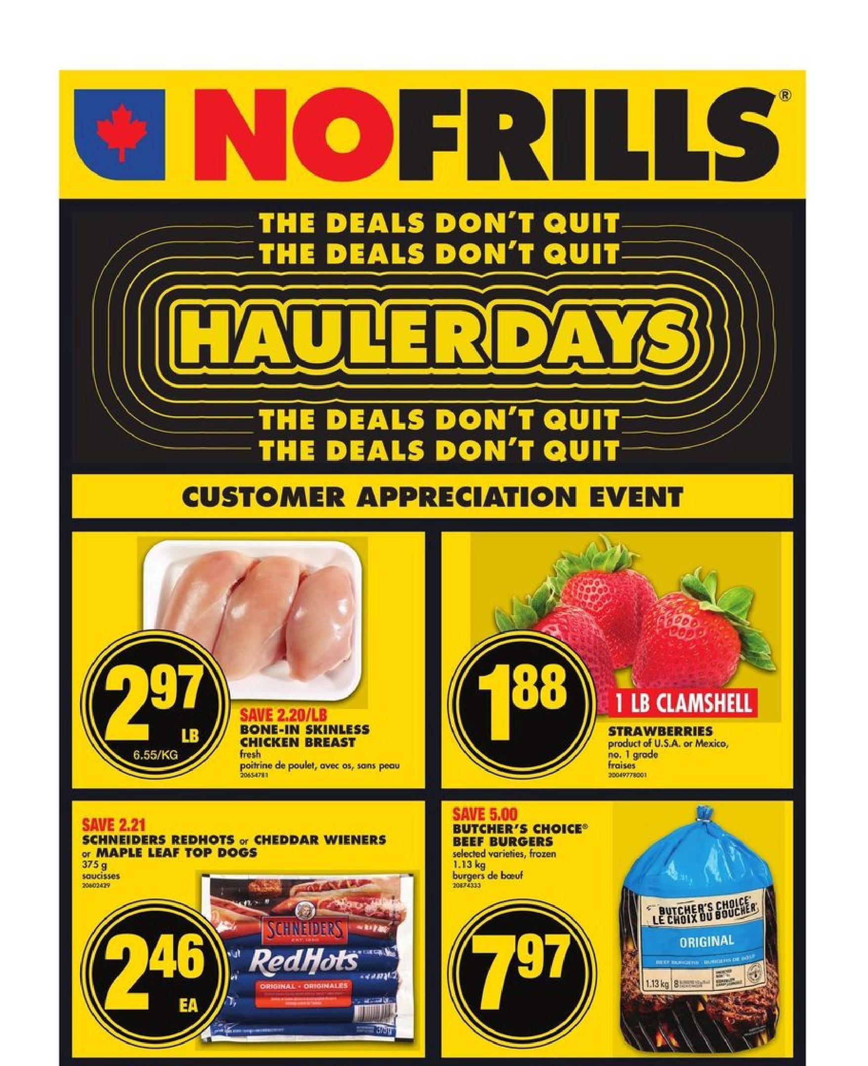 No Frills Flyer Apr 29