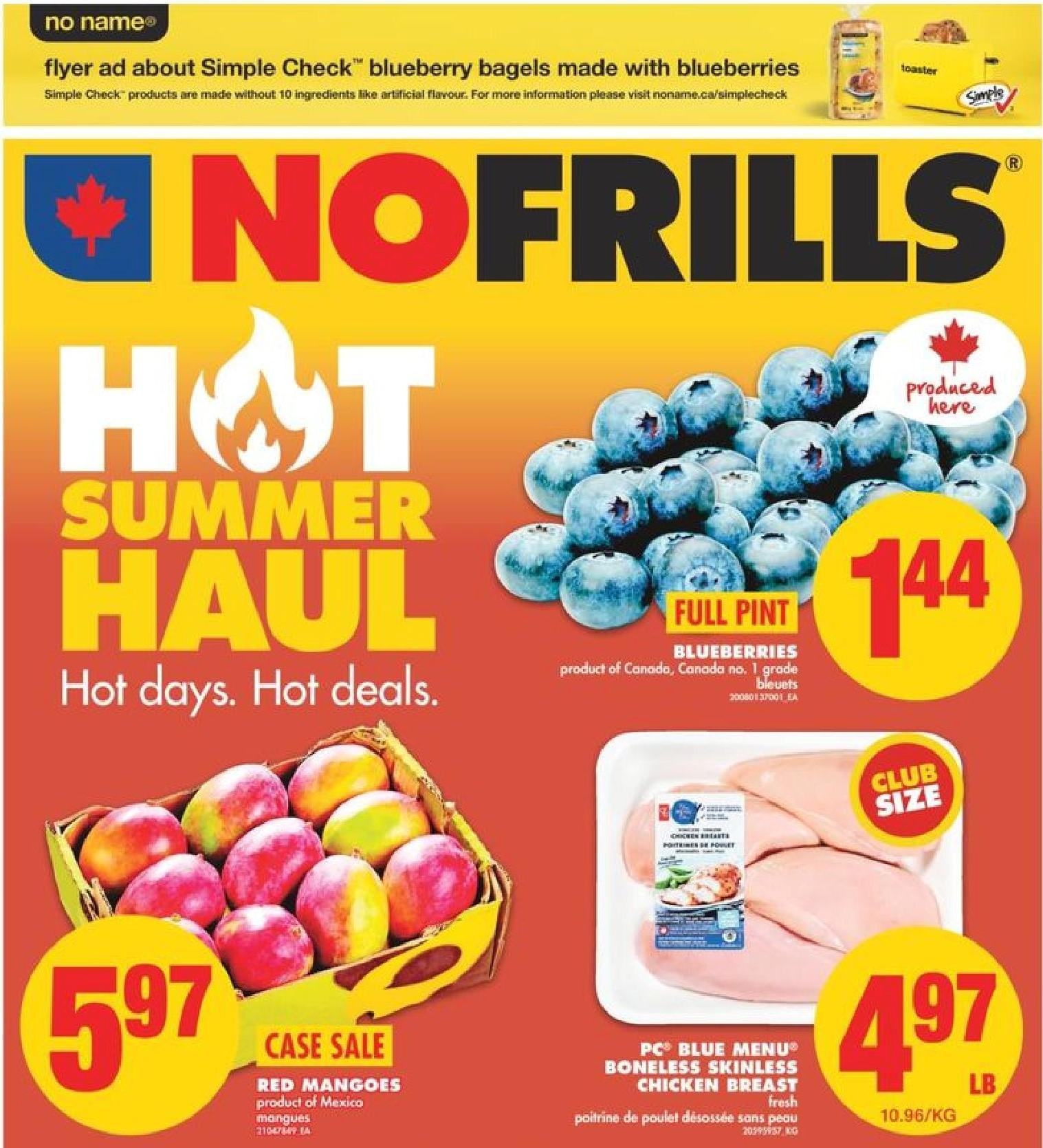 No Frills ON Flyer | Jul 22