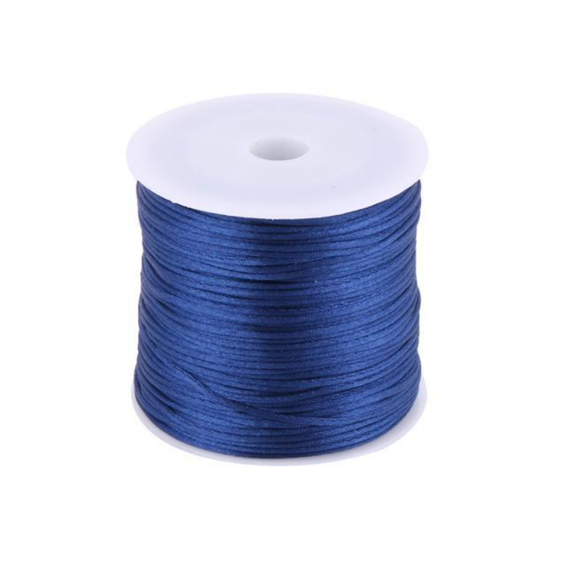 Nylon Handmade DIY Knit Ornament Bracelet Cord Dark Blue 1.5mm Dia 78.7 Yards – Newegg Canada