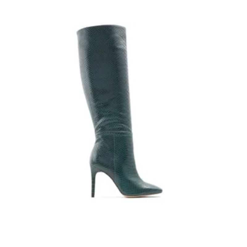 Oluria – Women's Boots Knee-High – Green, Size 10 – Aldo