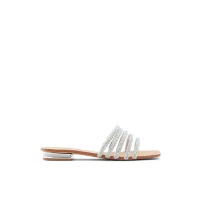 Roxy – Women's Sandals Flats – Silver, Size 9 – Aldo