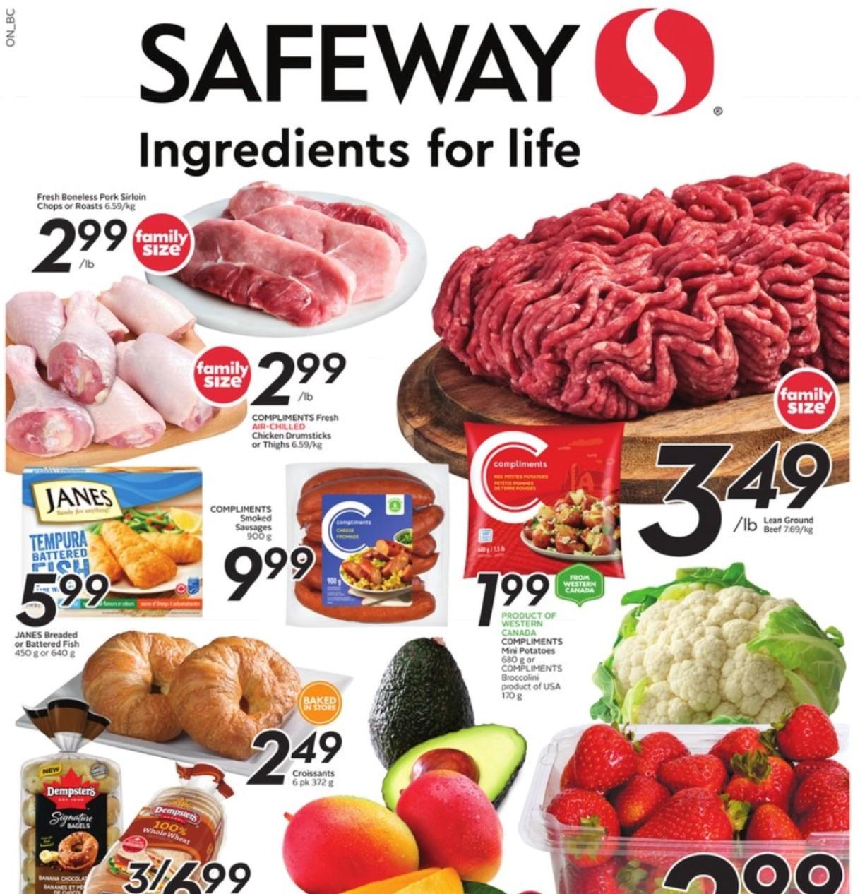 Safeway BC Flyer   Sep 23