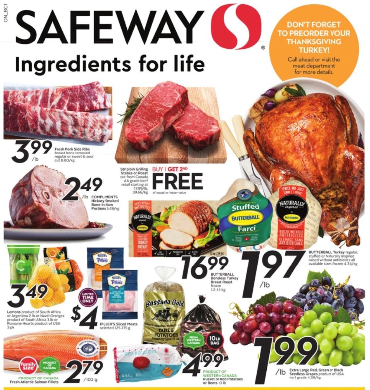 Safeway BC Flyer   Sep 30