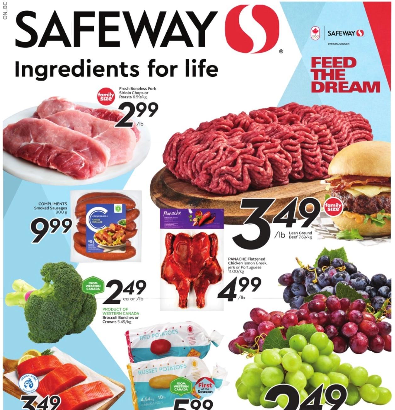 Safeway BC Flyer   Aug 5