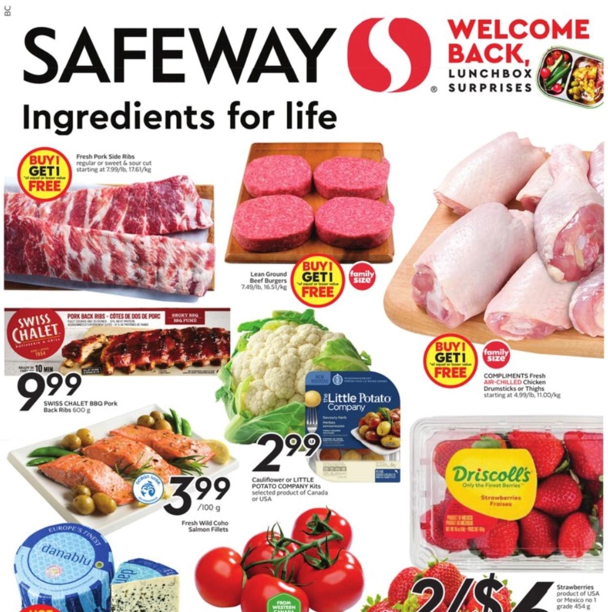 Safeway BC Flyer   Aug 19