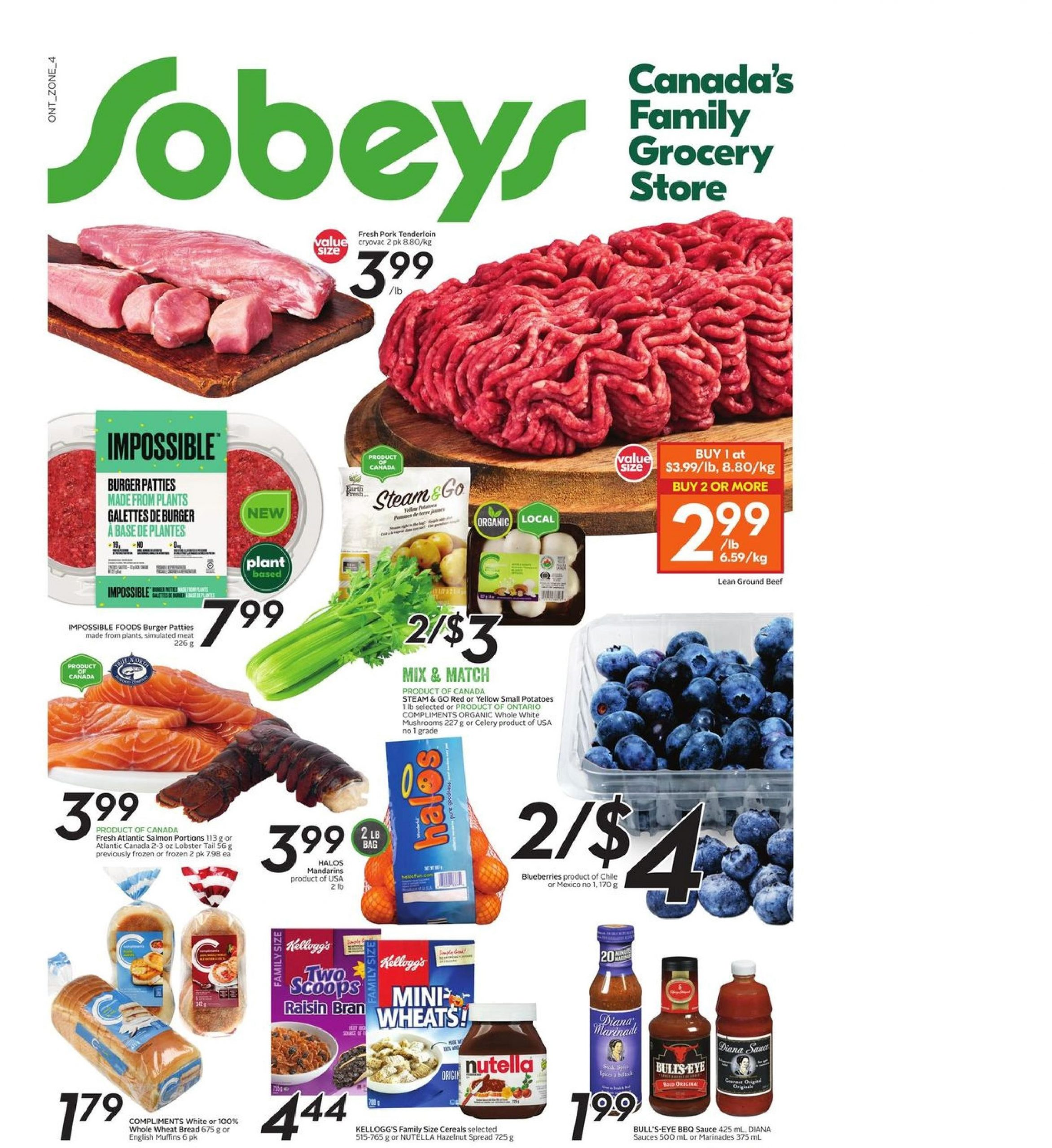 Sobeys Flyer Apr 8