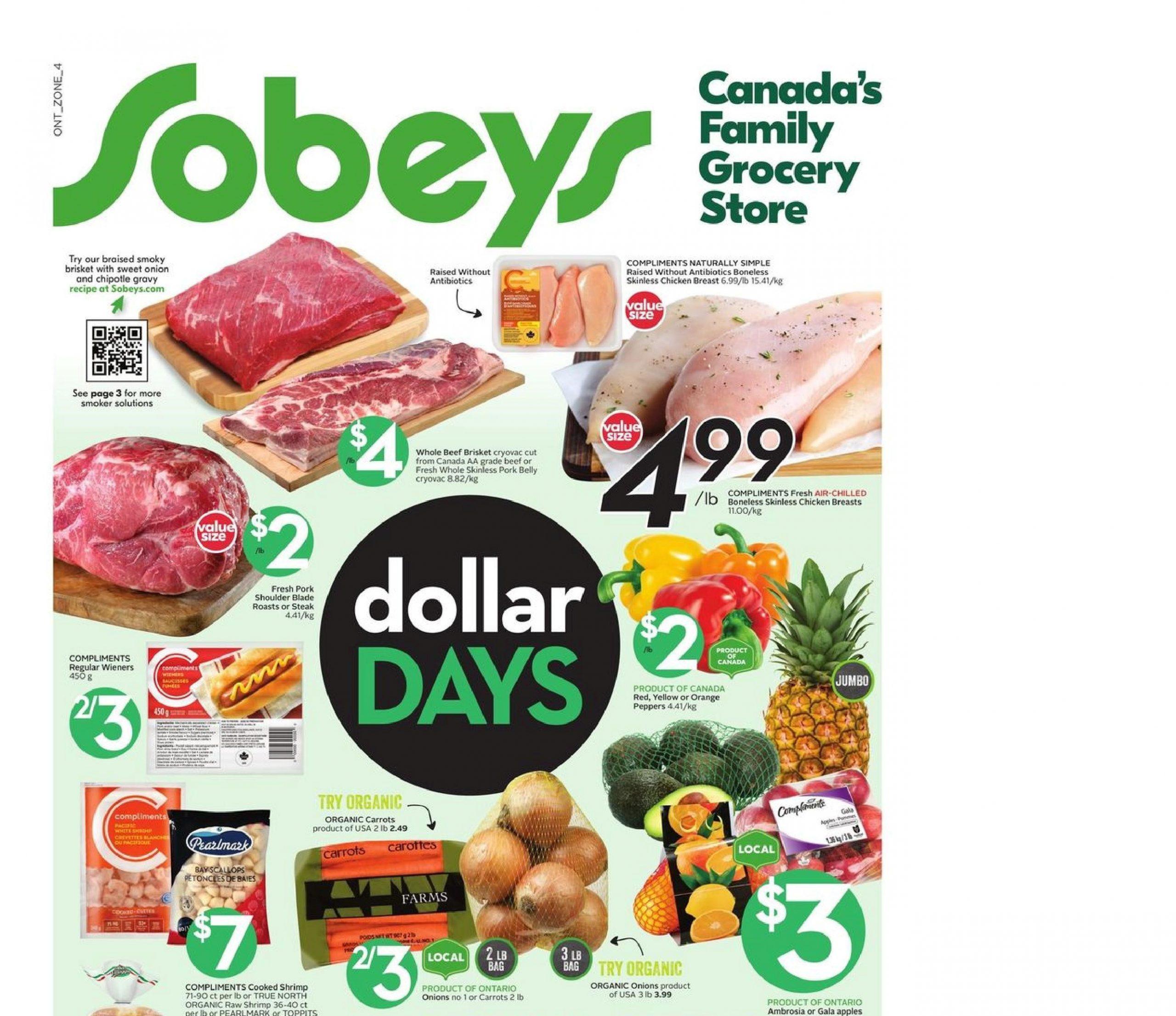 Sobeys Flyer Apr 15