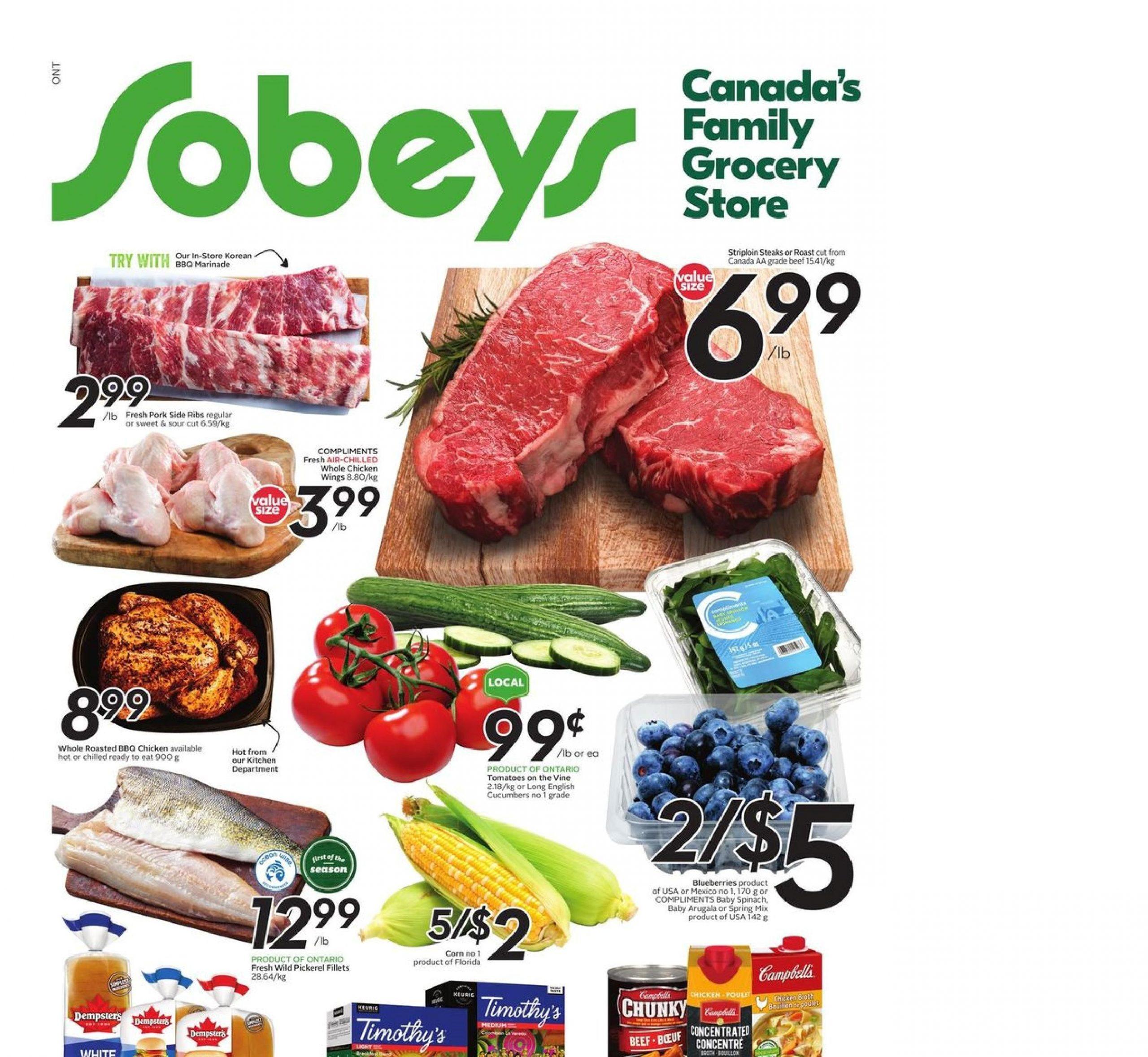 Sobeys Flyer Apr 22