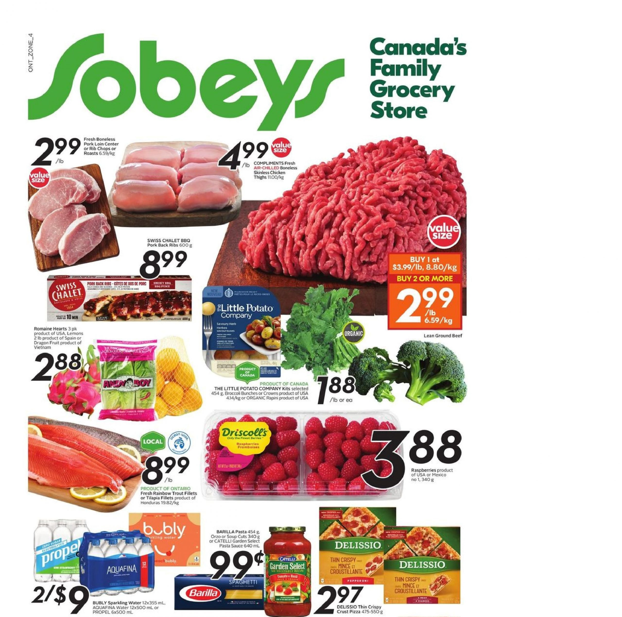Sobeys Flyer Apr 29