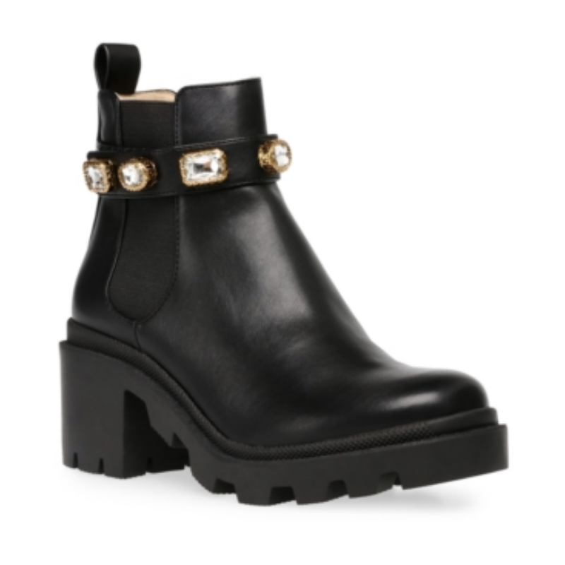 Steve Madden Women's Amulet Embellished Lug-Sole Booties – Macy's Canada