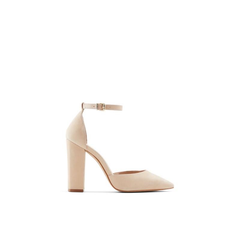 Susan-w – Women's Heels Block – Beige, Size 8 – Aldo