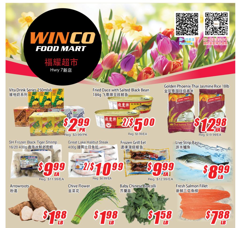 WinCo Food Mart Flyer Apr 29