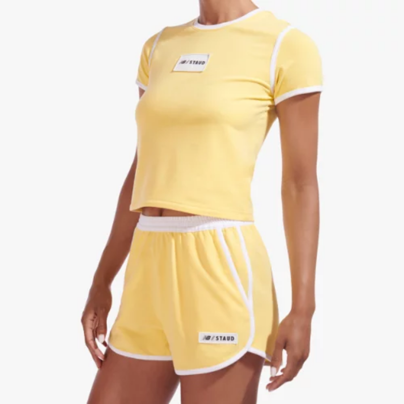 Women's NB x Staud Terry Run Short – (Size L) – New Balance Canada