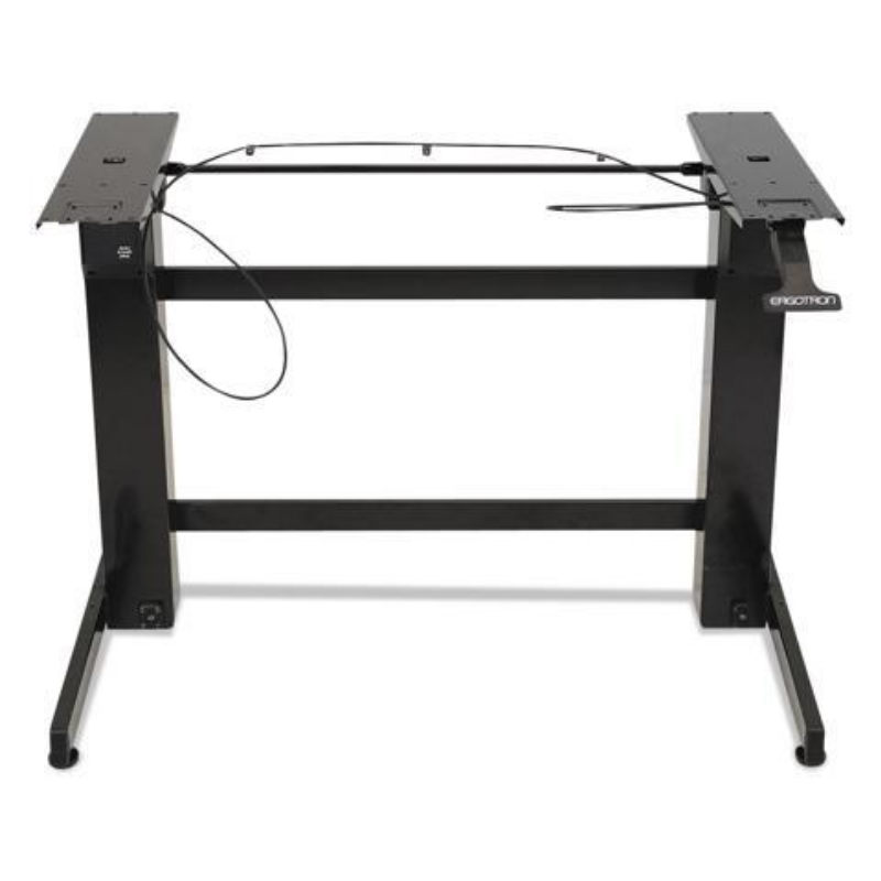 Workfit-B Sit-Stand Workstation Base, Heavy-Duty, 88 Lbs. Max Weight Cap, Black – Newegg Canada