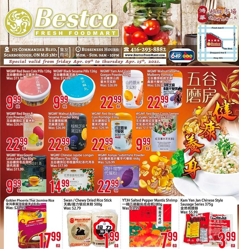 BestCo Fresh Foodmart Flyer Apr 9
