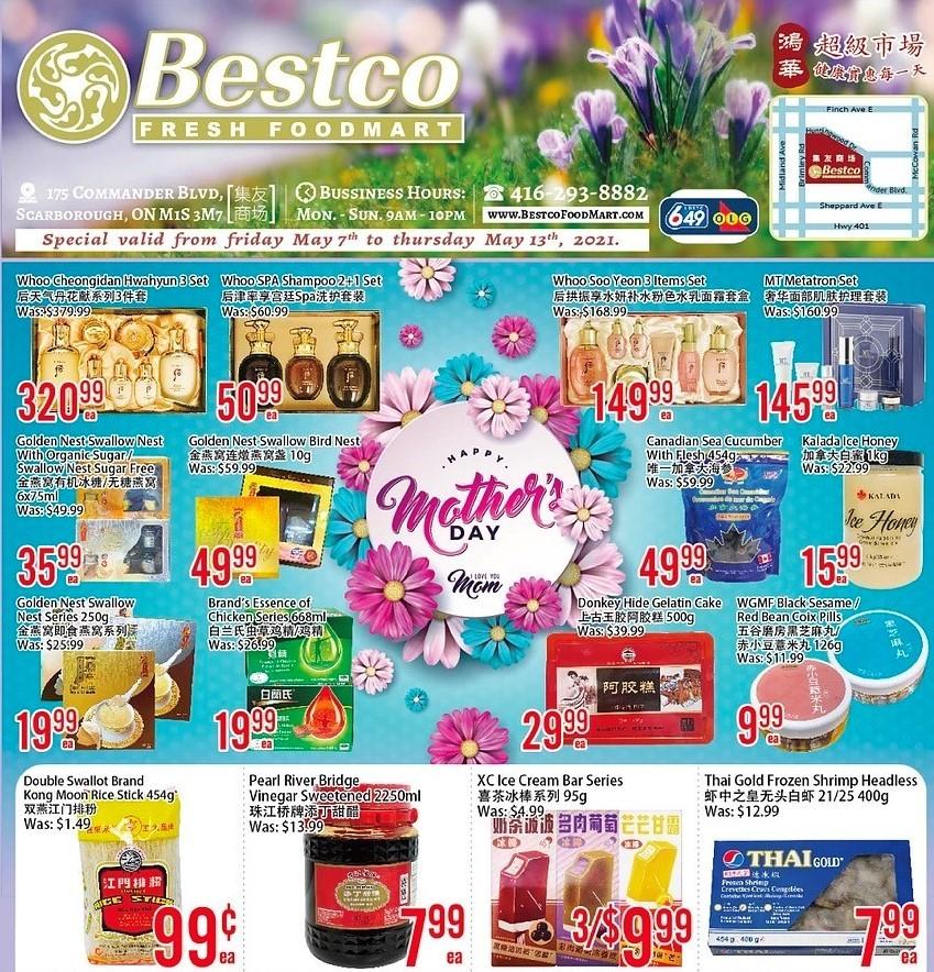 Bestco Fresh  Foodmart Flyer May 7