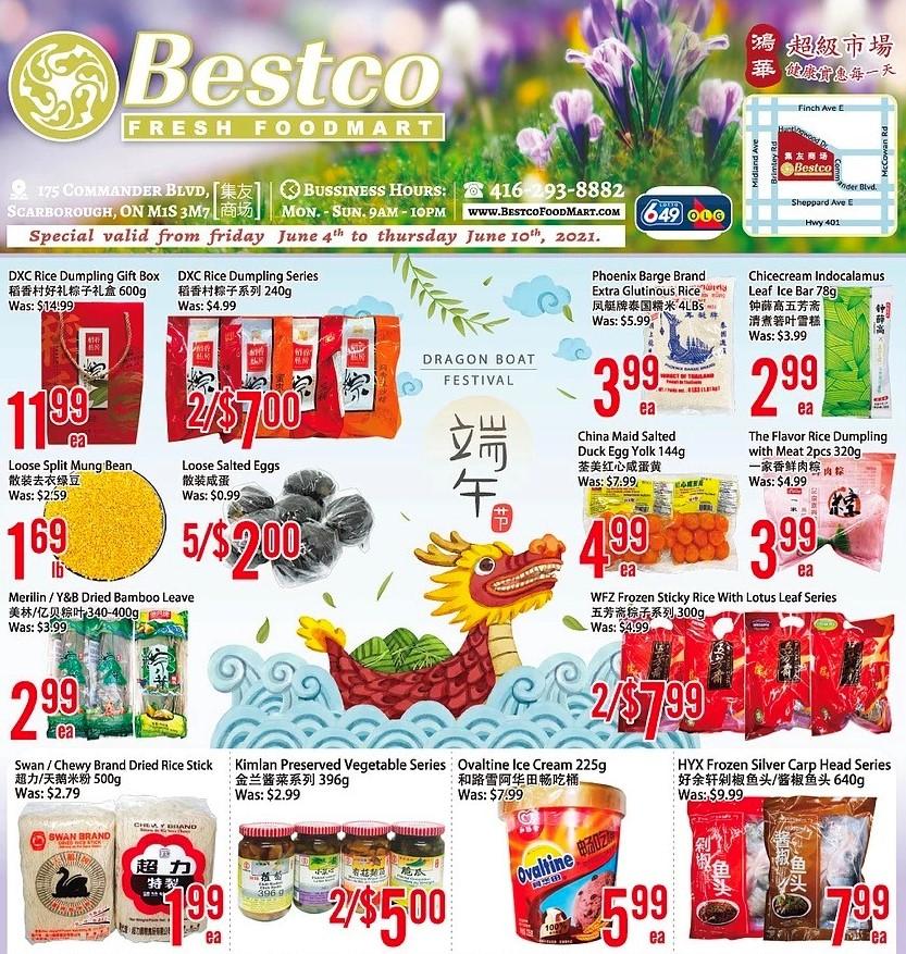 Bestco Fresh  Foodmart Flyer Jun 4
