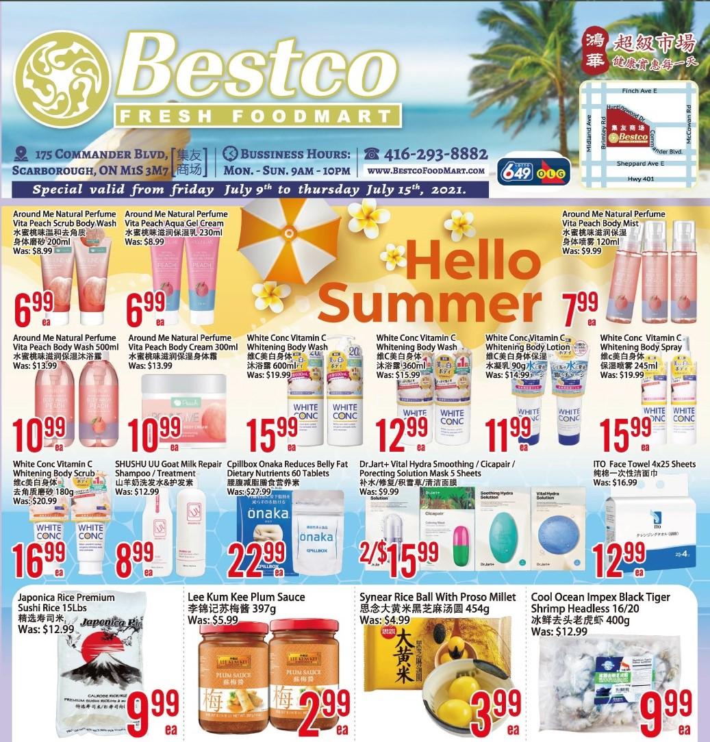 Bestco Fresh  Foodmart Flyer   Jul 9