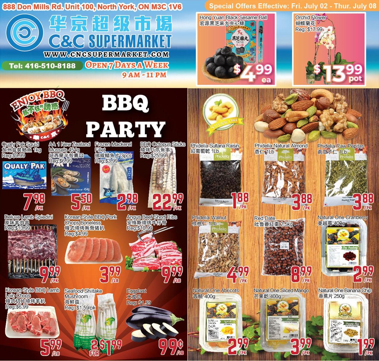 C&C Supermarket Flyer | Jul 2