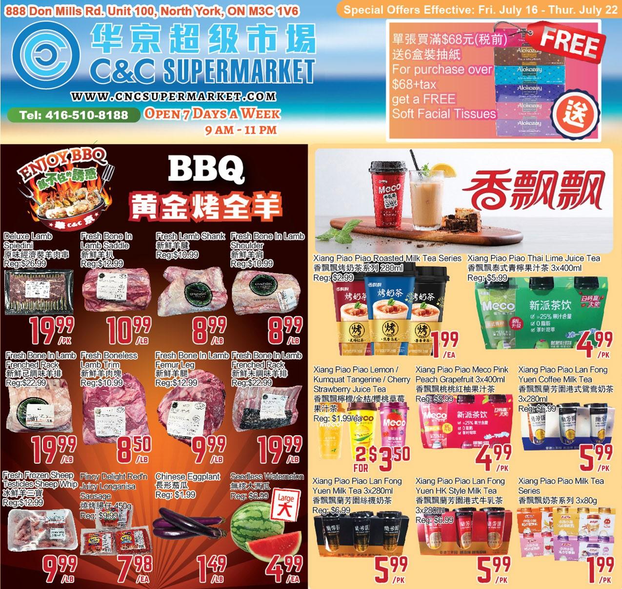 C&C Supermarket Flyer | Jul 16