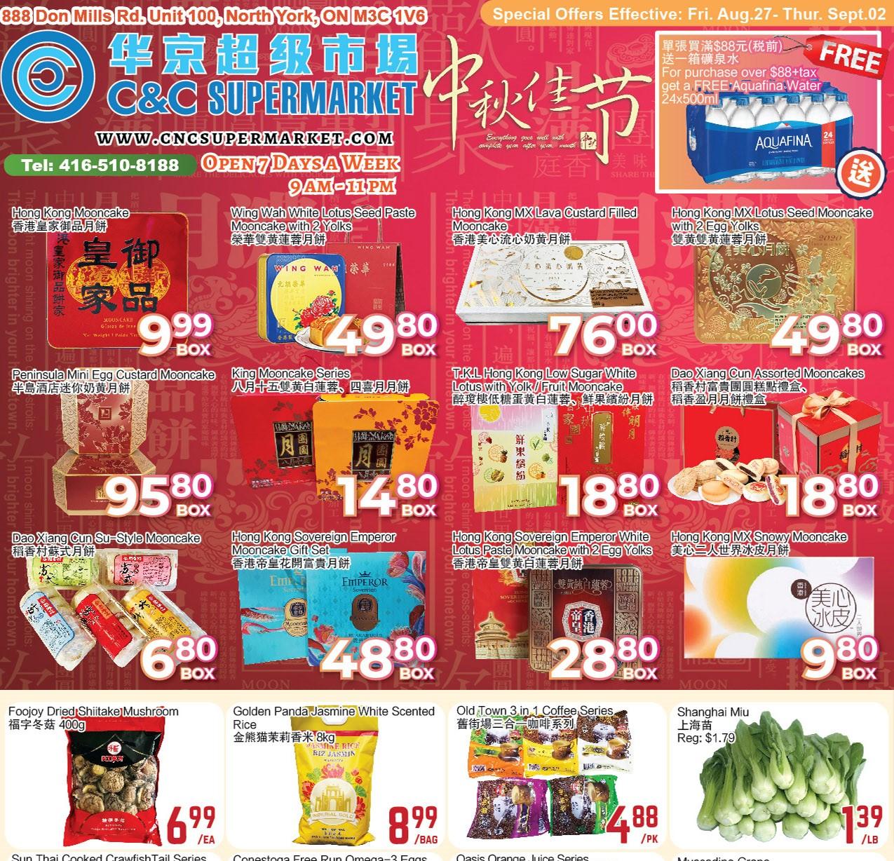 C&C Supermarket Flyer | Aug 27