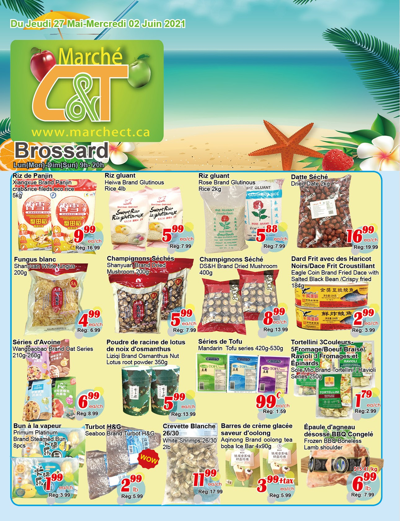 Marché C&T Brossard Flyer May 27