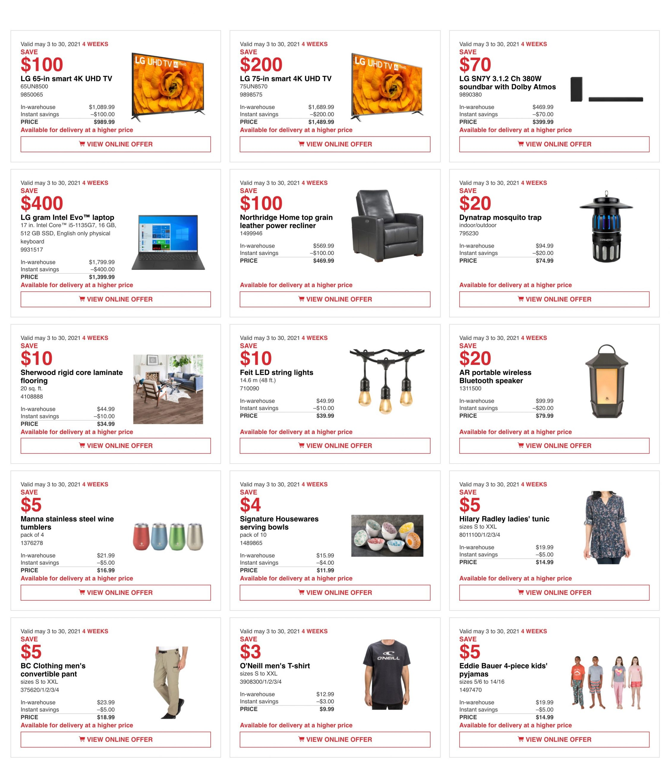 Costco AB Flyer May 3
